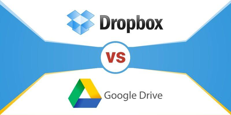 Kết quả hình ảnh cho google vs dropbox