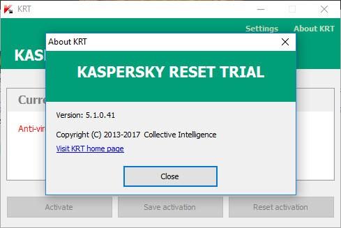 Kết quả hình ảnh cho KASPERSKY RESET