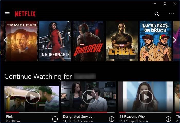 tải xuống ứng dụng Netflix cho Windows 10 pic2