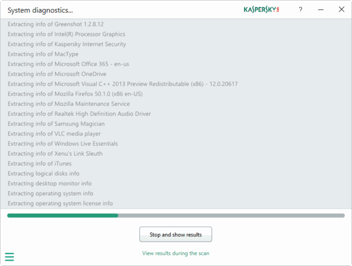 Kaspersky PC Cleaner cho Windows 10 pic4