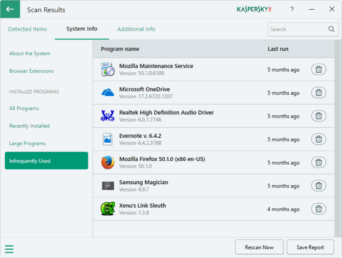 Kaspersky PC Cleaner cho Windows 10 pic9