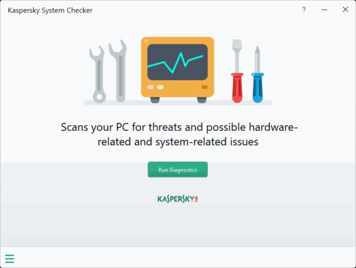 Kaspersky System Checker pic1