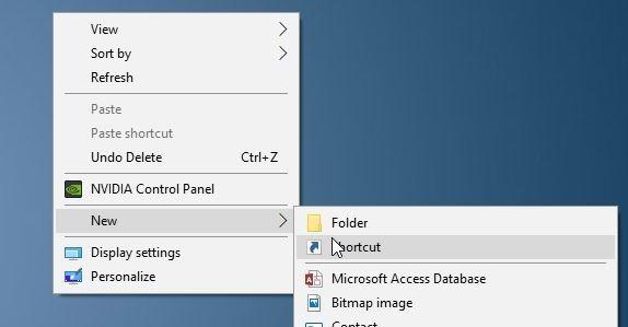tạo màn hình phác thảo lối tắt bàn phím tắt trong Windows 10 pic1