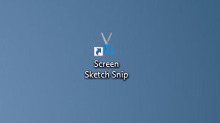 tạo màn hình sketch snip desktop shortcut trong Windows 10 pic7