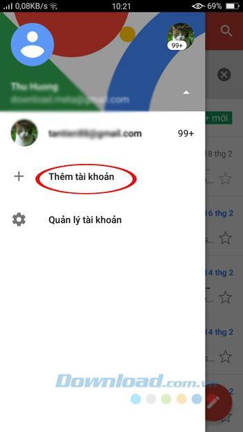 Hướng dẫn cách đăng nhập Gmail trên điện thoại