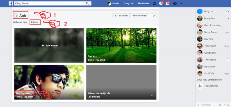 Hướng dẫn xóa ảnh, video đại diện của mình trên facebook