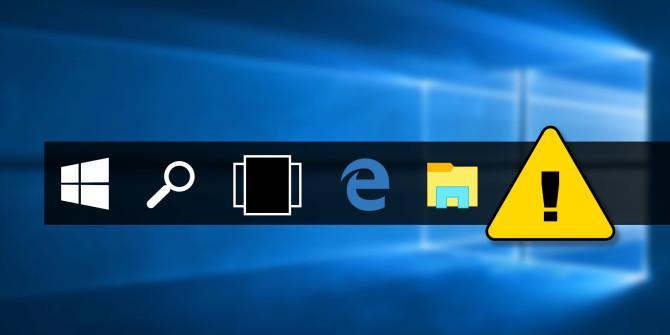 Hướng dẫn cách khắc phục lỗi Taskbar trên Windows 10