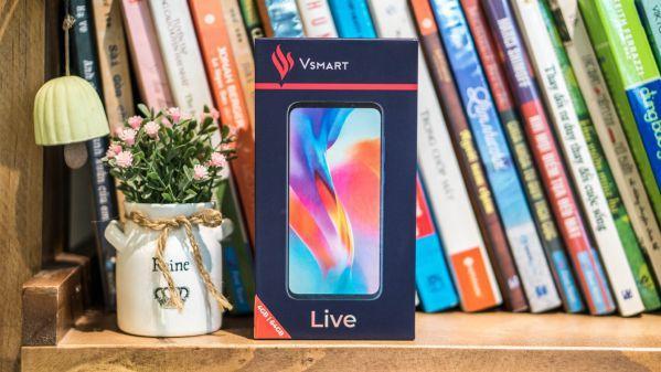 Đập hộp Vsmart Live: Điểm 10 cho sự trở lại với những nâng cấp và cải tiến mới