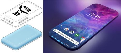 Chiêm ngưỡng concept smartphone Samsung với màn hình bao quanh