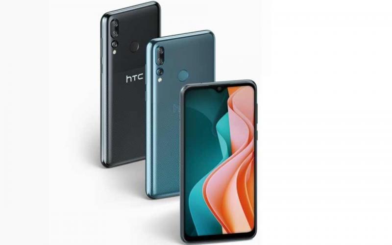 HTC trình làng smartphone giá rẻ HTC Desire 19s với màn hình tai thỏ, 3 camera