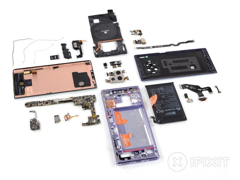 Huawei Mate 30 Pro dễ sửa chữa hơn nhiều flagship Android hiện nay