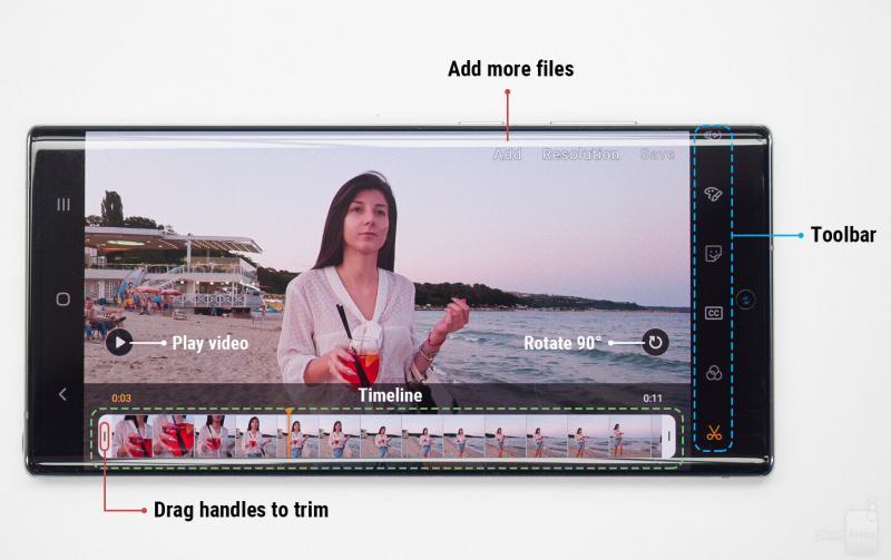Hướng dẫn cách chỉnh sửa video nâng cao trên Galaxy Note 10