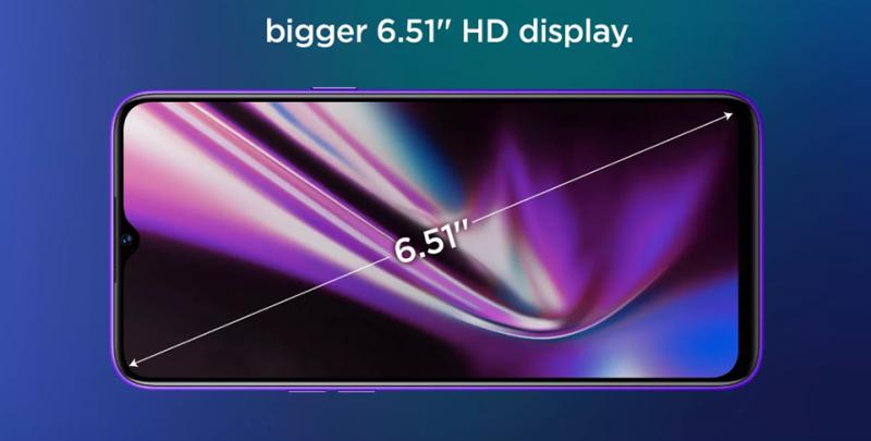Flipkart tiết lộ thiết kế mặt trước và kích thước màn hình của Realme 5s