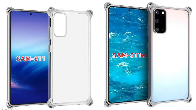 Nhà sản xuất ốp lưng xác nhận thiết kế của Galaxy S11 và Galaxy S11e