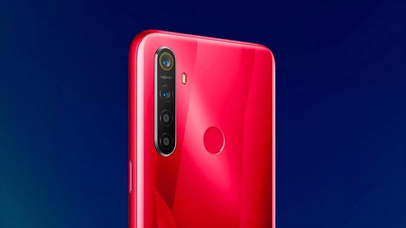 Realme 5s sẽ đưược trang bị 4 camera 48MP, chip Snapdragon 665