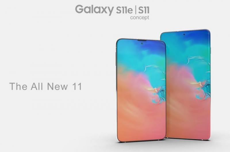 Chiêm ngưỡng concept tuyệt đẹp về Galaxy S11 và Galaxy S11e