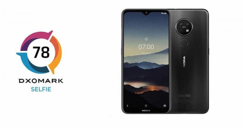 Camera selfie Nokia 7.2 đạt 78 điểm từ DxOMark