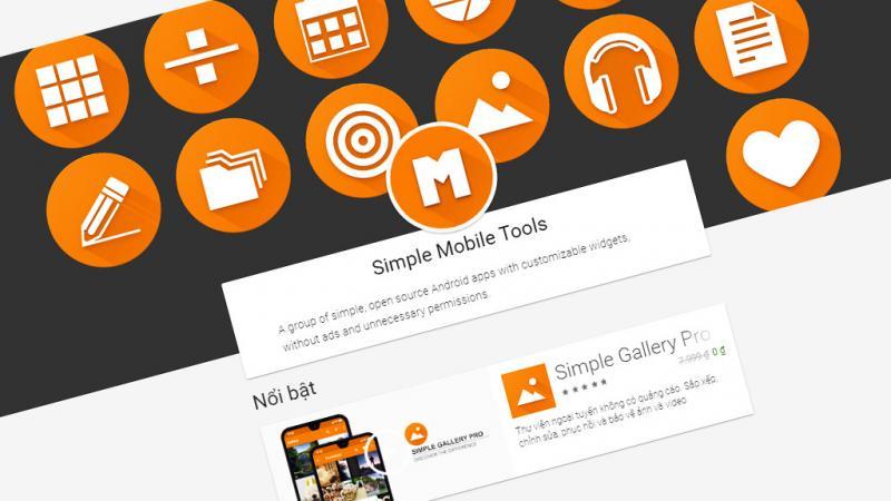 Nhận ngay 6 ứng dụng từ nhà phát triển Simple Mobile Tools đang miễn phí