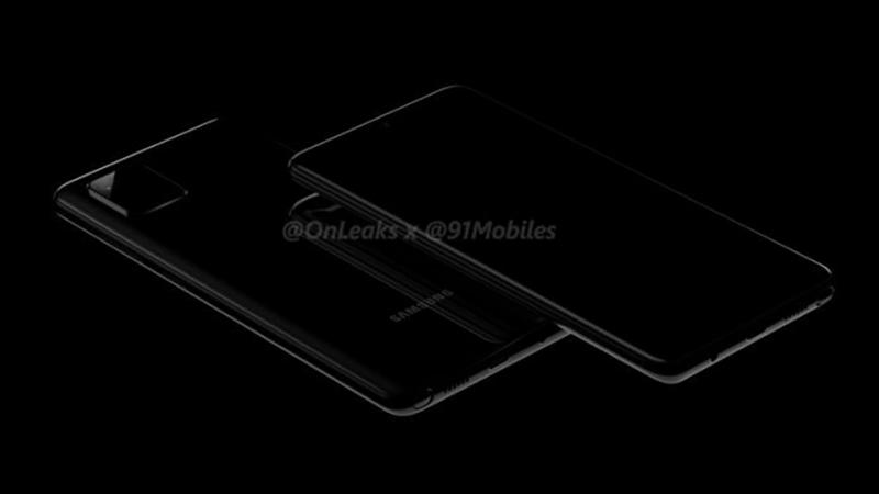 """Galaxy Note 10 Lite lộ diện với màn hình """"nốt ruồi"""", camera sau hình vuông"""