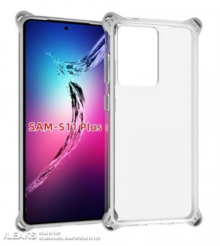 Hình ảnh ốp lưng hé lộ thiết kế rõ nét của Galaxy S11+