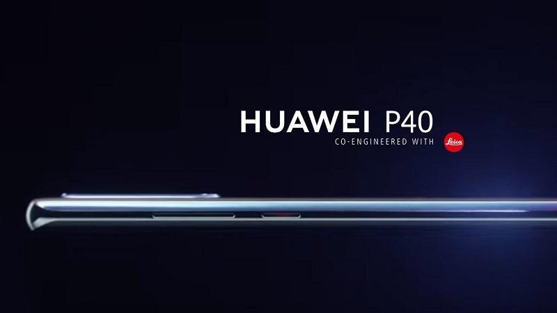 Bất ngời rò rỉ hình ảnh render đầu tiên của Huawei P40