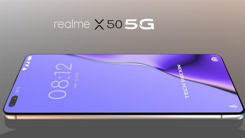 Realme X50 5G sẽ hỗ trợ sạc công nghệ nhanh Flash Charge VOOC 4.0