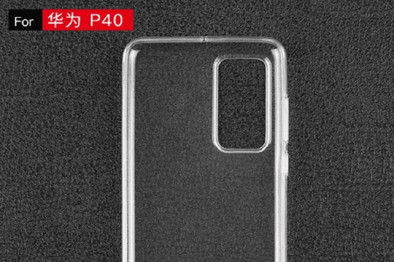 Huawei P40 sẽ sử dụng thiết kế camera hình chữ nhật phía sau