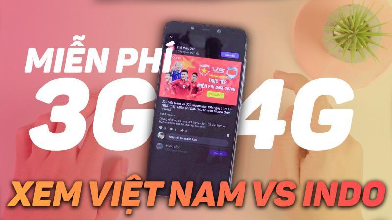 Cách đơn giản để xem trực tiếp chung kết bóng đá Việt Nam vs Indonesia không tốn 3G/4G