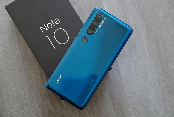 Xiaomi Mi Note 10 với camera độ phân giải 108 megapixel chuẩn bị bán tại Việt Nam
