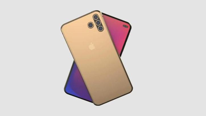 Chiêm ngưỡng ý tưởng iPhone 12 Pro Max với 4 camera sau được xếp theo hình chữ T