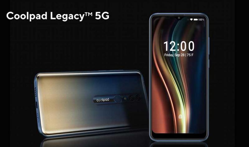 Coolpad ra mắt smartphone Legacy 5G với giá dưới 400 USD tại CES 2020