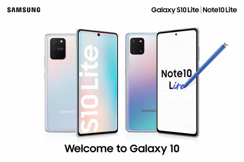 Samsung tiết lộ giá bán của Galaxy S10 Lite và Galaxy Note 10 Lite