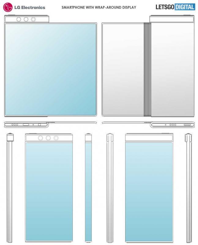 LG được cấp bằng sáng chế cho điện thoại màn hình vòm