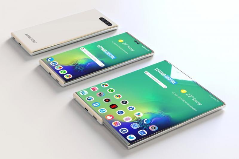 Một concept điện thoại trượt hoàn toàn mới của Samsung sẽ xuất hiện tại CES 2020