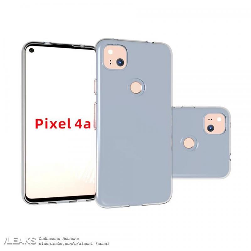 Thiết kế của Google Pixel 4a được xác nhận qua các hình ảnh ốp lưng