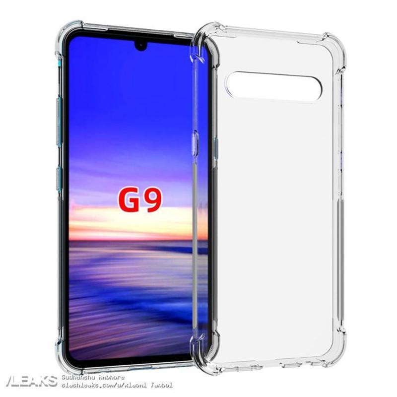 Hình ảnh ốp lưng bảo vệ xác nhận nhiều chi tiết về thiết kế của LG G9