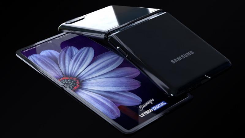 Xuất hiện video thiết kế tổng thể của Galaxy Z Flip: 2 màn hình, 2 camera, 2 viên pin
