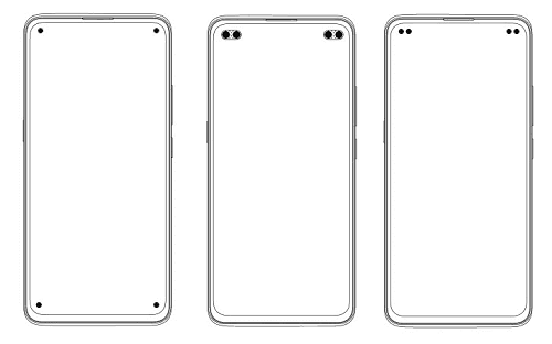 Vivo được cấp bằng sáng chế về mẫu smartphone với 4 camera selfie đục lỗ