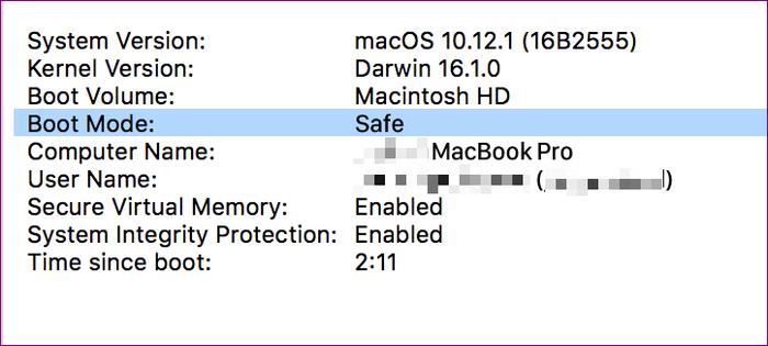 Hướng dẫn cách đưa máy tính Mac vào chế độ Safe Mode