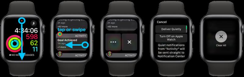 Hướng dẫn cách xem, tinh chỉnh thông báo trên Apple Watch