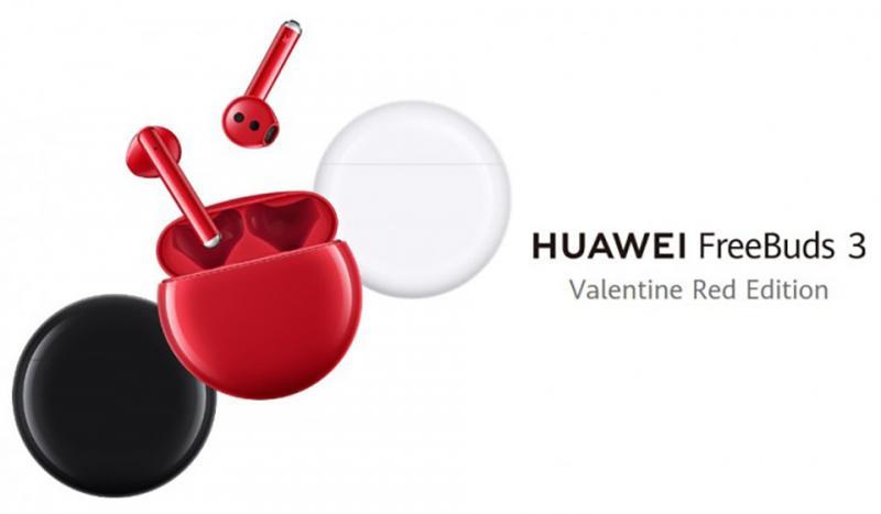 Huawei có thể sẽ công bố phiên bản màu Red mới cho FreeBuds 3