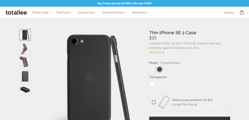 Bất ngờ xuất hiện hình ảnh ốp lưng của iPhone SE2/iPhone 9 trước ngày ra mắt