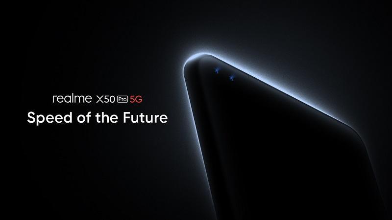 Realme xác nhận X50 Pro 5G sẽ hỗ trợ sạc nhanh SuperDart 65W