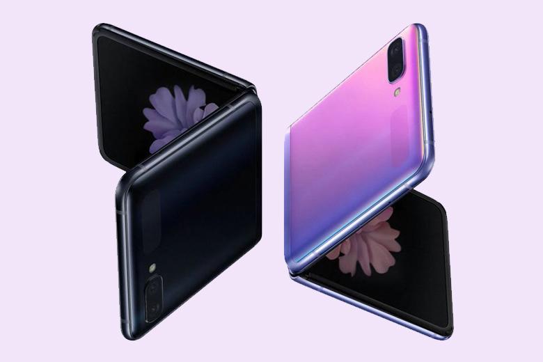 Samsung Galaxy Z Flip được trang bị loa stereo, sạc không dây 12W