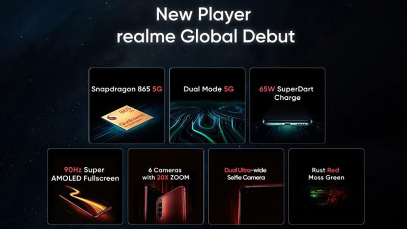 Mọi thông tin về Realme X50 Pro 5G trước thềm trình làng