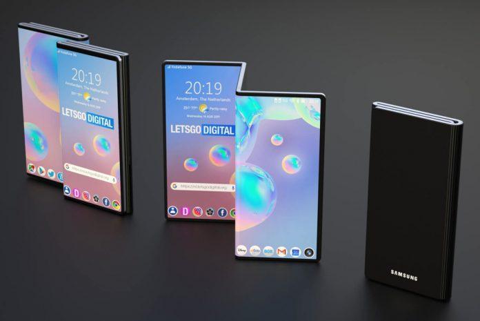 Samsung có thể sẽ nghĩ về thiết bị gập với 3 màn hình trong tương lai