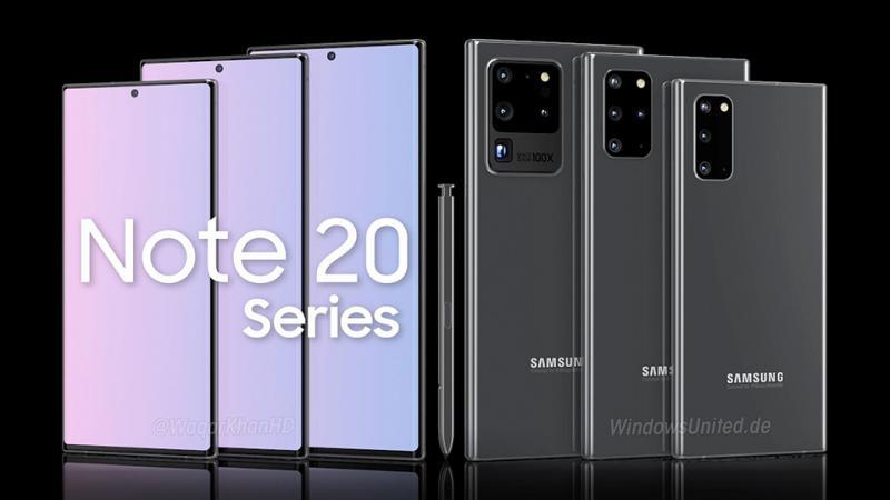 Galaxy Note 20 có thể sở hữu công nghệ màn hình cong hết sức đột phá