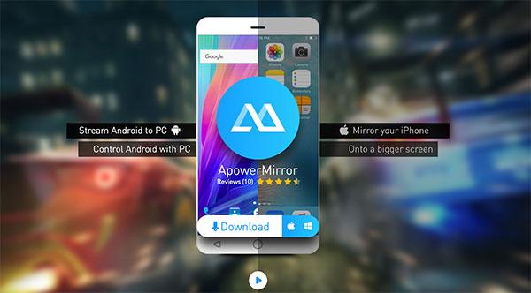 ApowerMirror - Giải pháp kết nối thông minh điện thoại với màn hình máy tính