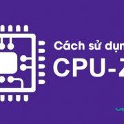 Cach Su Dung Phan Mem Cpu Z 2