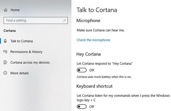 Cách tắt Cortana win 10 nhanh chóng